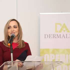 Grand opening of the Dermalina Clinic